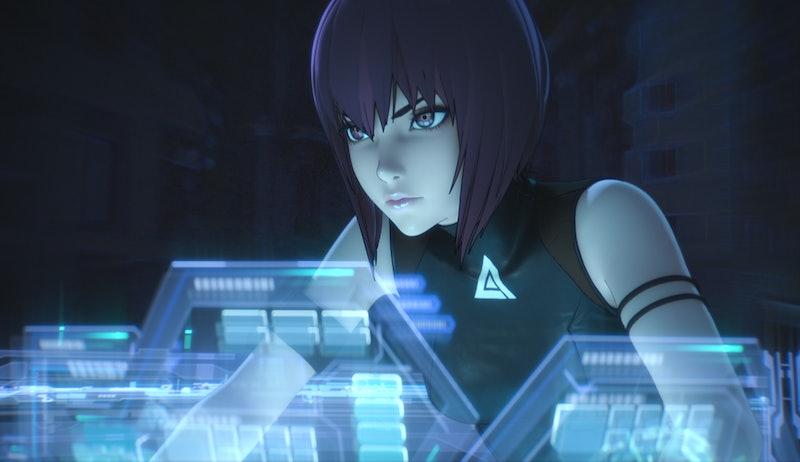 Major Motoko Kusanagi in 'Ghost in the Shell: SAC_2045' Season 1