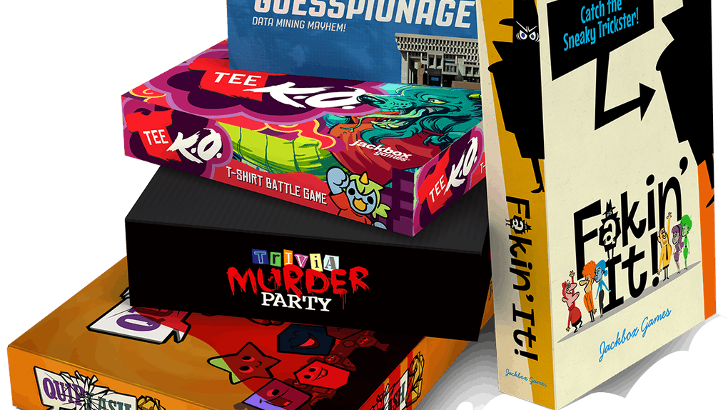 You can play the JackBox Trivia Murder Party on Zoom.