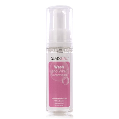 GladGirl Wash and Wink Eyelash Extension Shampoo and Conditioner