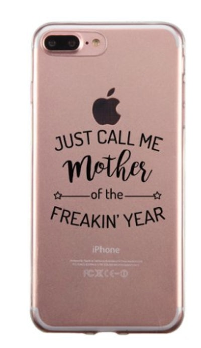 Mother Of The Year Gummy Phone Case Funny Mother's Day Gift Ideas  Report incorrect product information Mother Of The Year Gummy Phone