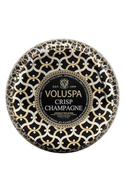 Maison Noir Crisp Champagne Maison Metallo Two-Wick Candle