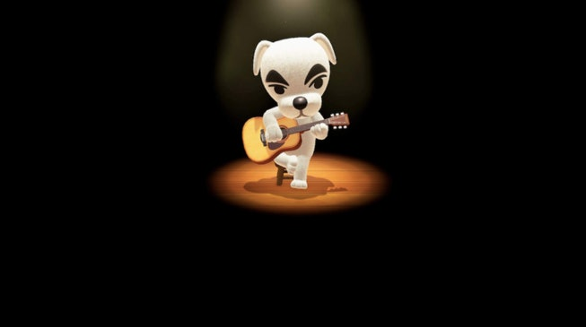 K.K. Slider in Animal Crossing: New Horizons