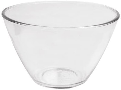 Anchor Hocking Splashproof Glass Mixing Bowls, 4 Quart (Set of 2)
