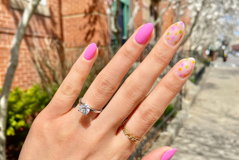 The nail art trick to beautiful manicures at home.
