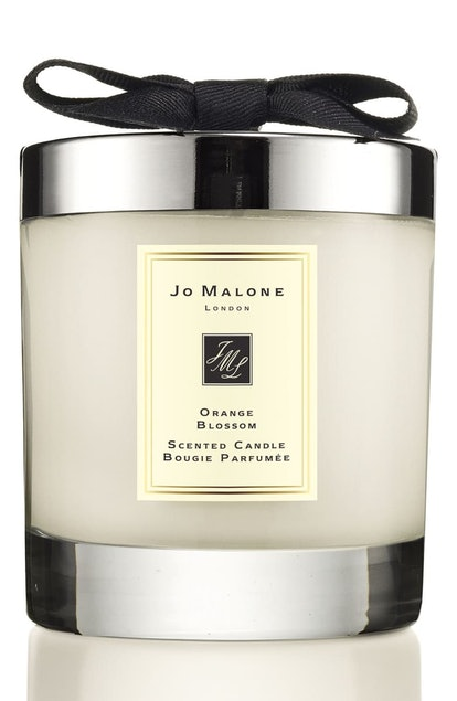 Orange Blossom Scented Home Candle