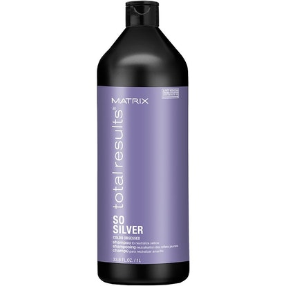 Total Results So Silver Shampoo for Blonde and Silver Hair