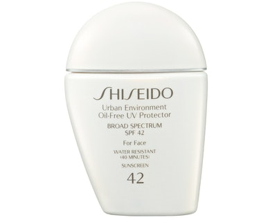 Urban Environment Oil-Free UV Protector Broad Spectrum Face Sunscreen SPF 42
