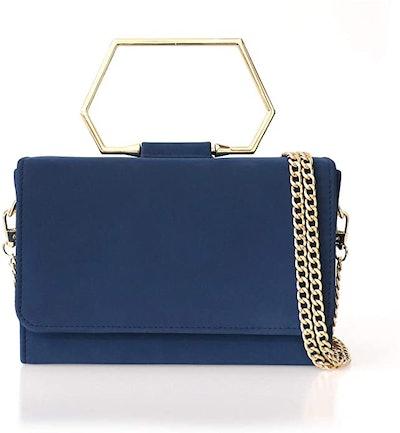 Eiozur Top Handle Rectangle Evening Bag