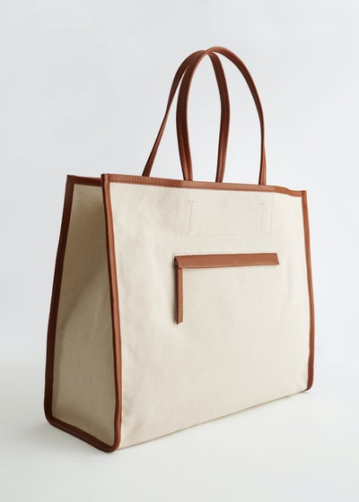 & Other Stories Canvas Tote Bag