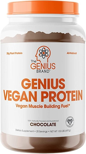 Genius Brand Vegan Protein Powder
