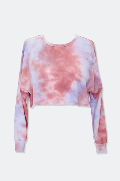 Forever 21  Plus Size French Terry Tie-Dye Tee
