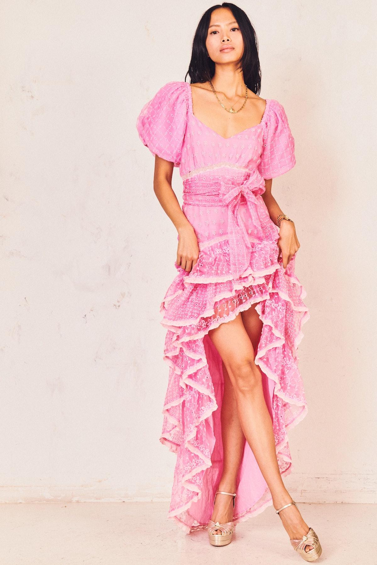 Cayden Silk Dress