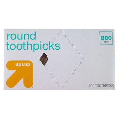 Round Toothpicks