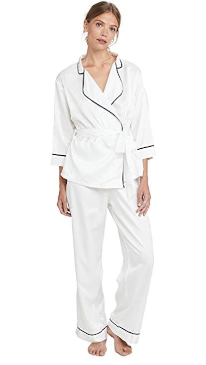 Wren Kimono & Trouser Pajama Set