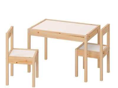 LÄTT Children's Table & Chairs