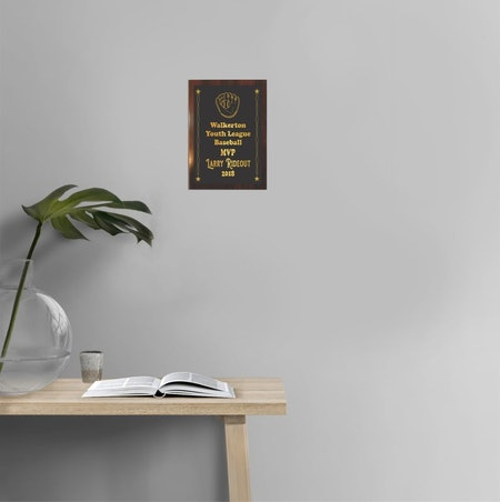 Custom Engraved Award Plaque