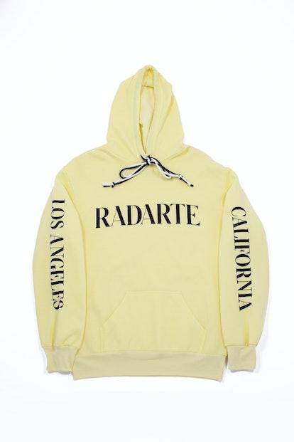 Yellow Radarte Hoodie