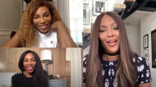 During an appearance on Naomi Campbell's YouTube channel, Serena Williams pretended to not know who her friend, Meghan Markle, is.