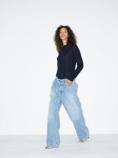 Raey Fold Dad Baggy Boyfriend Jeans