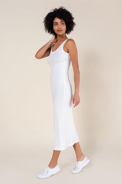 Alison Ribbed Tank Dress