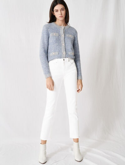Maje Wide Straight-Cut Jeans