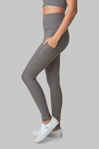 Wolf Grey Pocket Legging