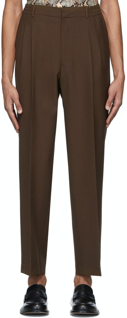Brown Jez Trousers