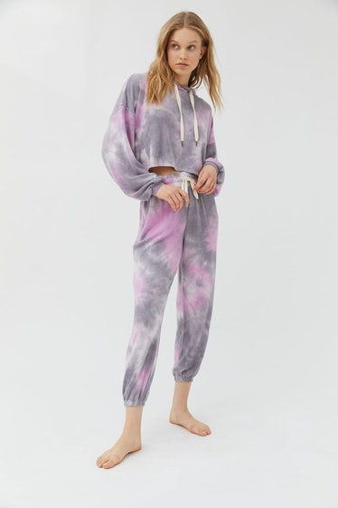 Out From Under Jenny Tie-Dye Fleece Jogger Pant