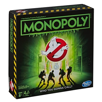 The new Monopoly: 'Ghostbusters' Edition is perfect for your next family game night.