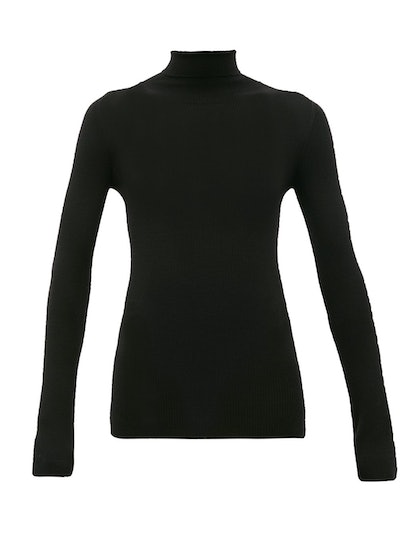 Release 05 Roll-Neck Ribbed Merino-Wool Sweater