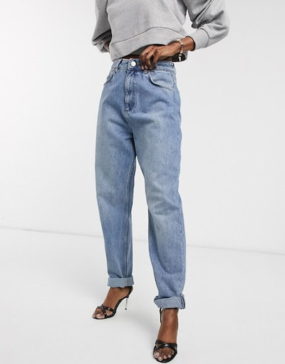 ASOS Design High Rise Slouchy Mom Jeans