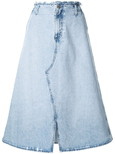Nobody Denim Siena A-Line Skirt