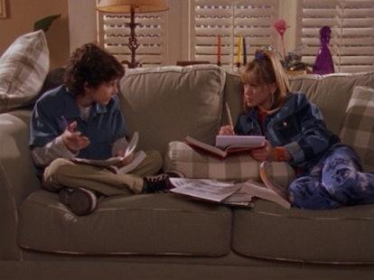 Gordo & Lizzie in 'Lizzie McGuire' on Disney+