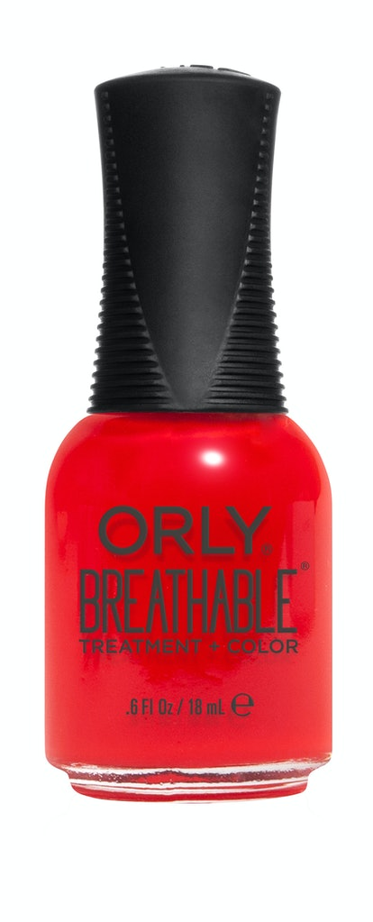 Breathable Treatement + Color in Cherry Bomb