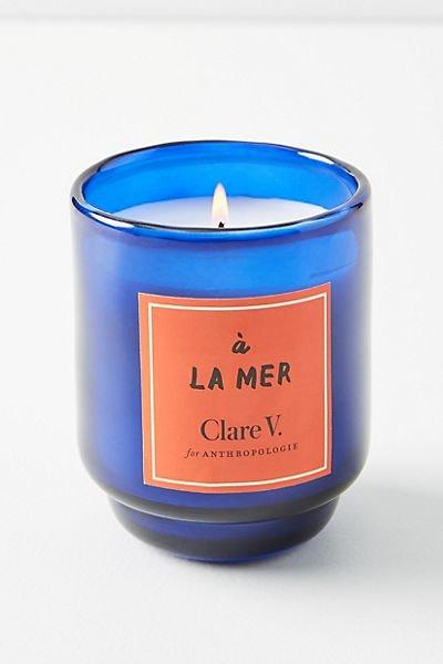 Clare V. for Anthropologie Maisonette Glass Candle