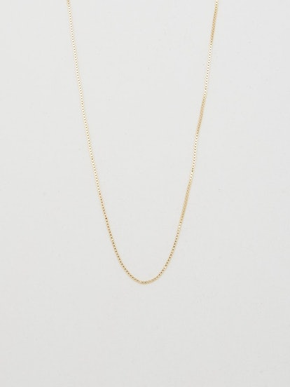 """22"""" Thick Square Chain Necklace"""