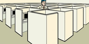 Could the much-maligned cubicle be making a comeback?