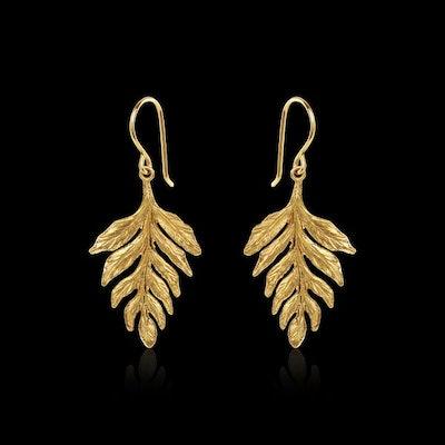 Catherine Zoraida Fern Leaf Earrings