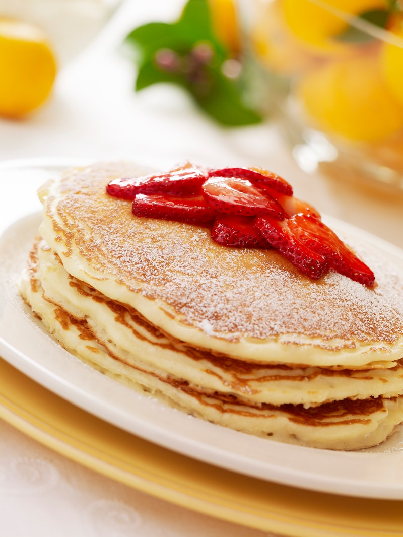 The Cheesecake Factory Shared Its Lemon-Ricotta Pancake Recipe
