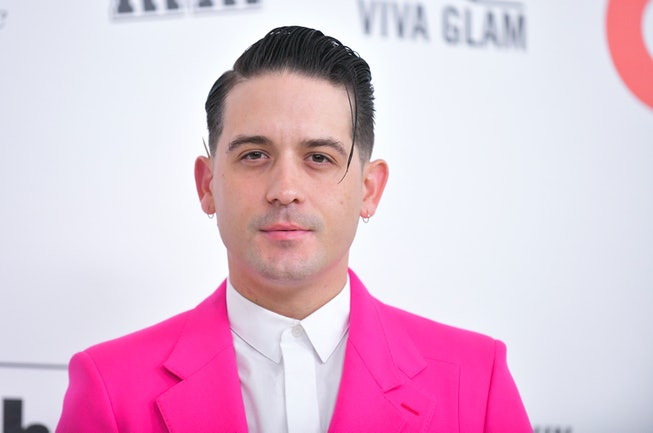 G-Eazy attends the 28th Annual Elton John AIDS Foundation Academy Awards Viewing Party Sponsored By IMDb And Neuro Drinks on February 09, 2020 in West Hollywood, California.