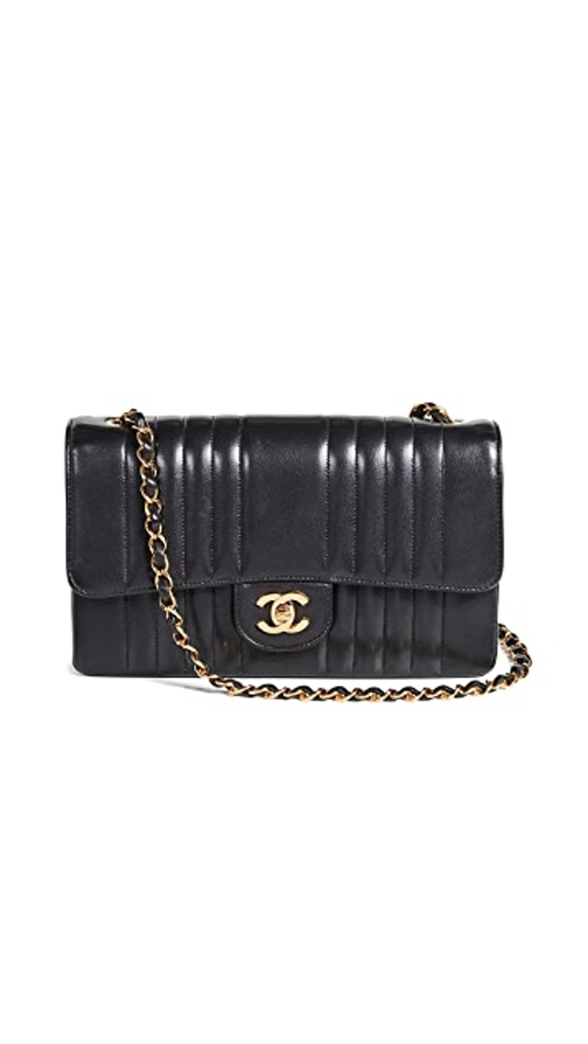 "Chanel Vertical 10"" Flap Bag"