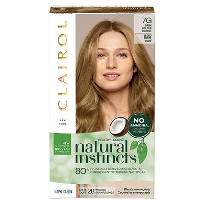 Clairol Natural Instincts Semi-Permanent Hair Color (3-Pack)
