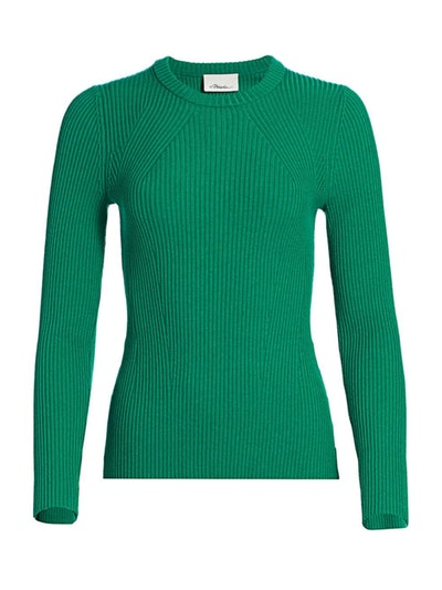 3.1 Phillip Lim Rib-Knit Wool-Blend Pullover