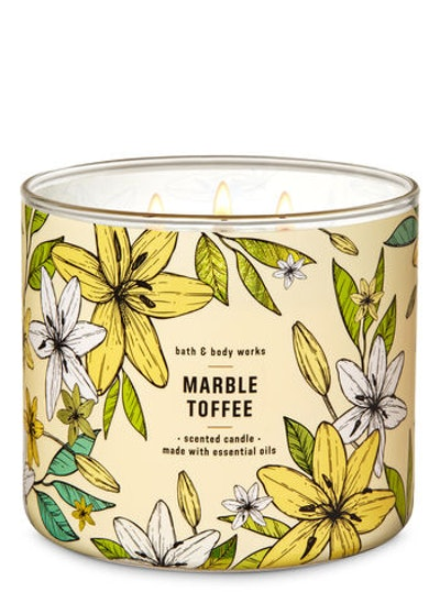 Marble Toffee 3-Wick Candle