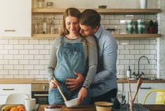 Picking a gift for your pregnant wife can be as simple as picking something she really loves.