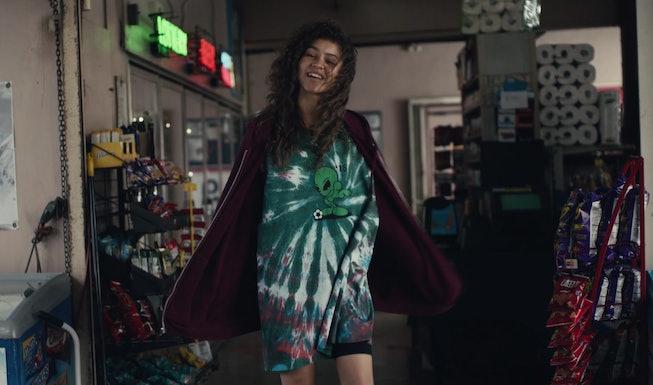 Zendaya as Rue in 'Euphoria'