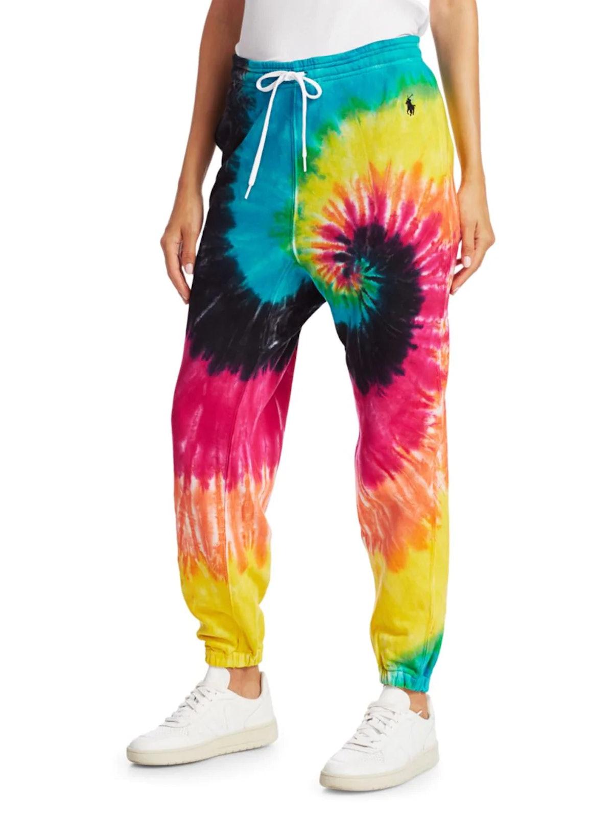 Polo Ralph Lauren Tie Dye Jogger Sweatpants