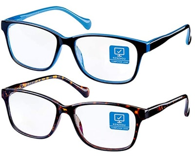 Blue Light Blocking Computer Glasses 2 Pack