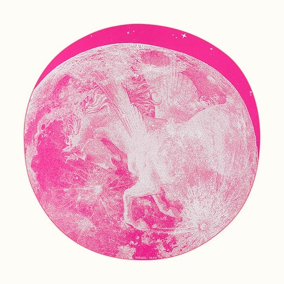 Clair De Lune Round Scarf