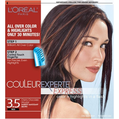 L'Oreal Paris Couleur Experte 2-Step Home Hair Color And Highlights Kit